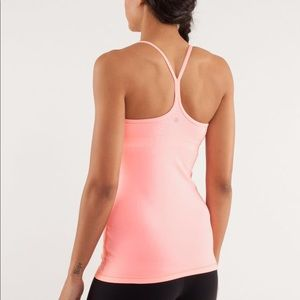 Lululemon Power Y Coral Tank Top